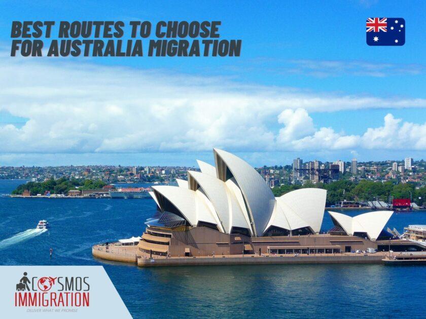 Australia Migration Routes