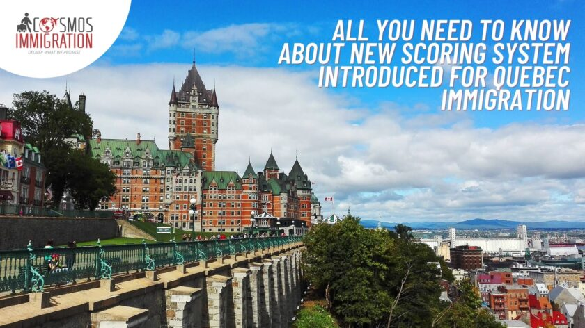 Quebec Immigration New Points System