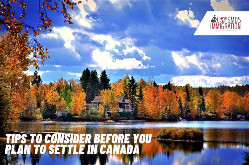 Settle In Canada