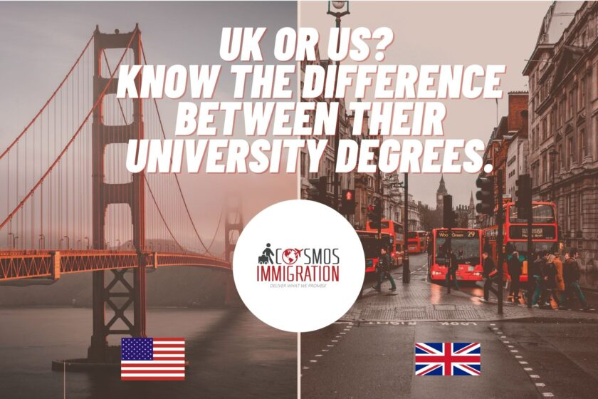 US Or UK For Education